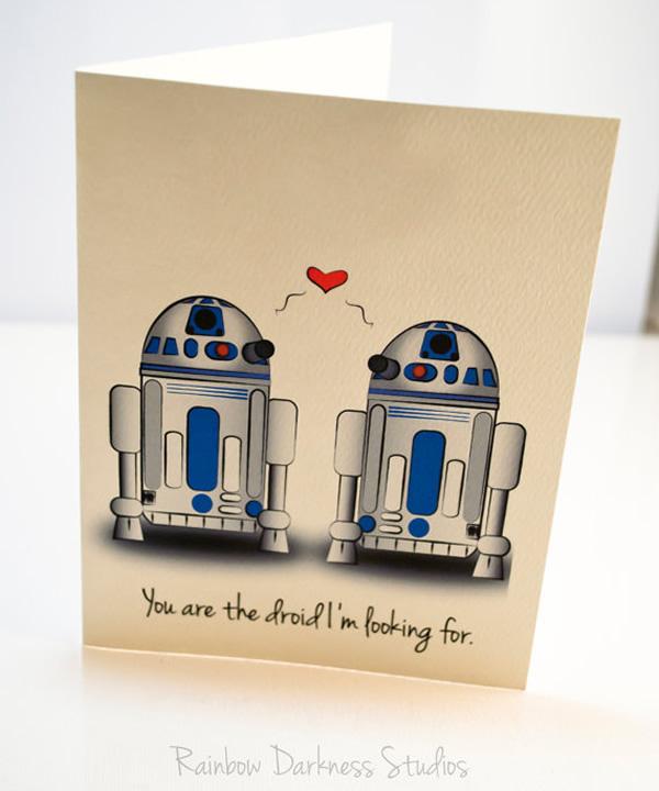 Cartões geeks para o Dia dos Namorados