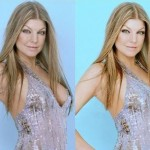 Fotos de 23 celebridades antes e depois do Photoshop