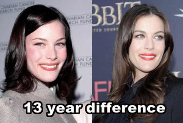 Mutantes? 14 Celebridades que praticamente não envelheceram após cerca de uma década ou mais