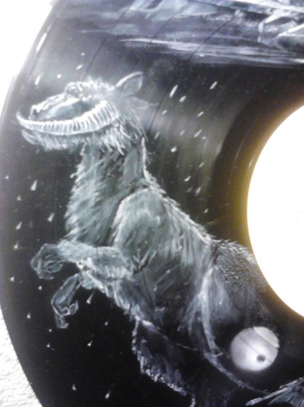 Isso é incrível do dia: Discos de vinil pintados com personagens da saga Star Wars