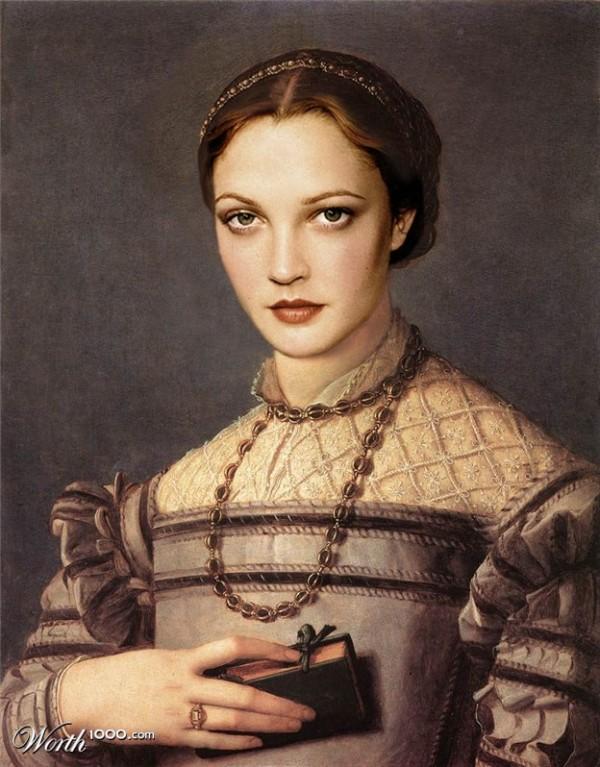 Renascença Moderna: Imagens transformam celebridades em quadros antigos