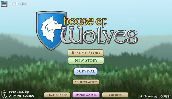 GAMEFUN - House of Wolves