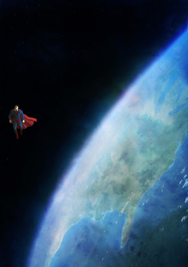 A Lonely God - Série de ilustrações mostra super-heróis solitários