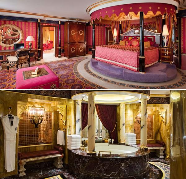 Os ricos piram hotel em dubai oferece ipad de ouro 24 k for Hotel em dubai