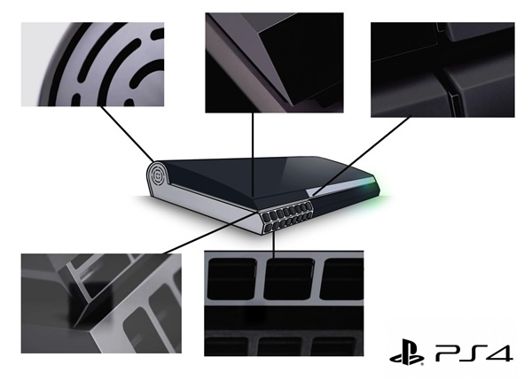 Esboço revela qual seria o provável design do novo PS4 da Sony