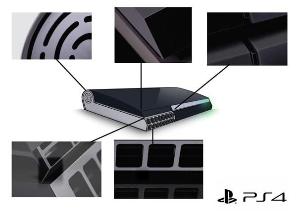 Esboço revela qual seria o provável design do novo PS4 da Sony