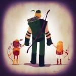 Justice Families - Ilustrações fofas mostram as famílias dos heróis da Liga da Justiça