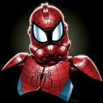 mashup-herois-viloes-clone-troopers-homem-aranha