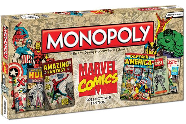 Hasbro lança Monopoly da Marvel em edição especial para colecionadores de HQs