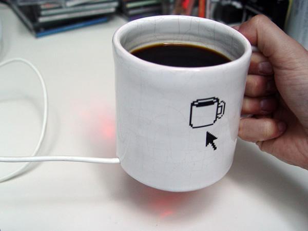 MugMouse - A curiosa caneca de café que também funciona como mouse