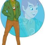 Personagens da Disney como estudantes universitários