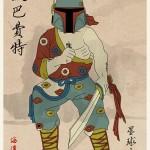 Série de ilustrações transforma os personagens de Star Wars em guerreiros chineses