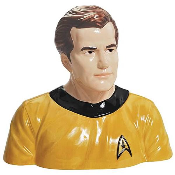 Potes de biscoito dos personagens de Star Trek