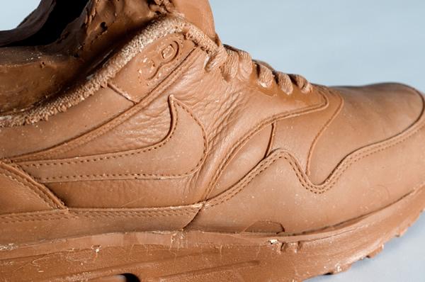 Réplicas do tênis Nike Air Max 1 feitas de chocolate. Hummm!
