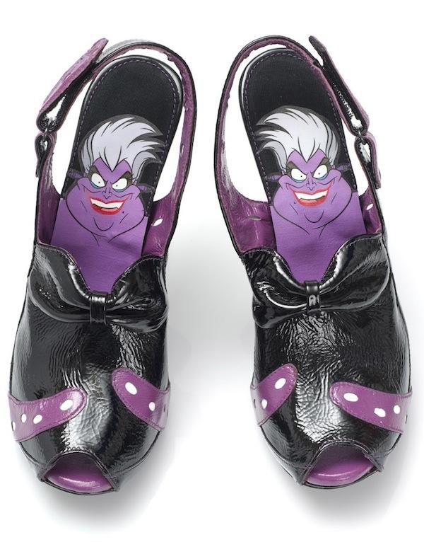 Isso é legal do dia: Sapatos incríveis inspirados nas vilãs da Disney