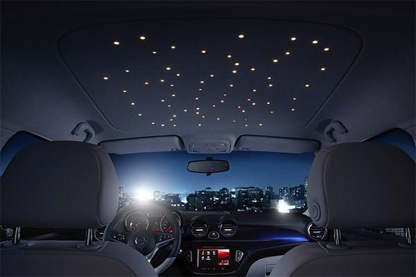 Como Fazer Ceu Estrelado No Quarto ~   Fabricante de carros lan?a carro com ?teto estelar? como opcional