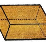 Parallelepipedus - Tapete 3D imita um paralelepípedo