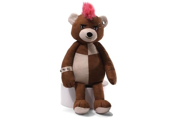 Com vocês, os ursos Ted de piercings e tatuagens!