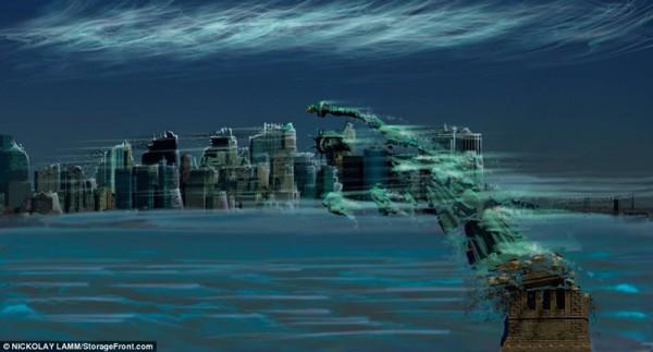 """Já imaginou como seria se nossa """"casa"""" estivesse em outros planetas? Veja as imagens que simulam isso:"""