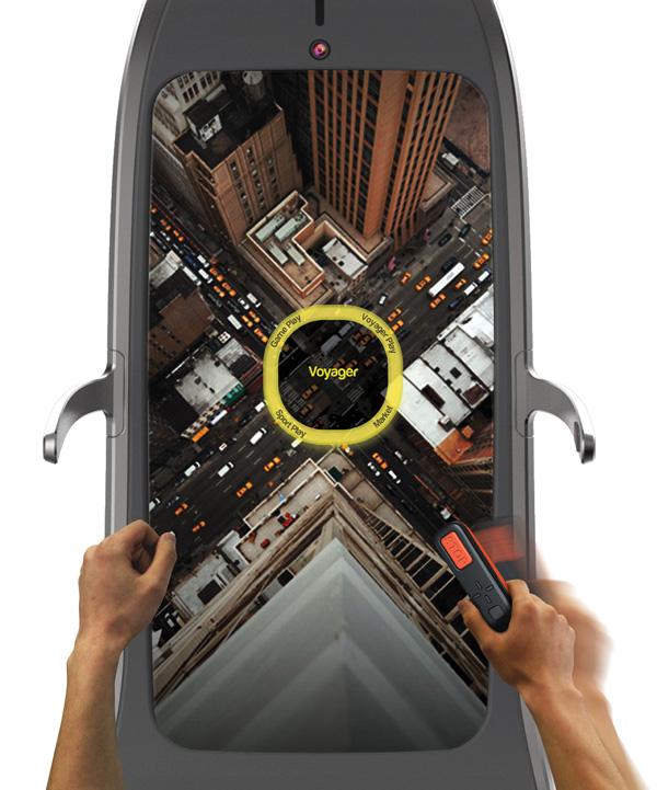 Designer inventa esteira interativa SENSACIONAL que vem com jogos para estimular os corredores