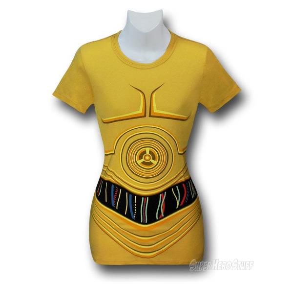 Blusinhas baseadas nas armaduras dos personagens de Star Wars