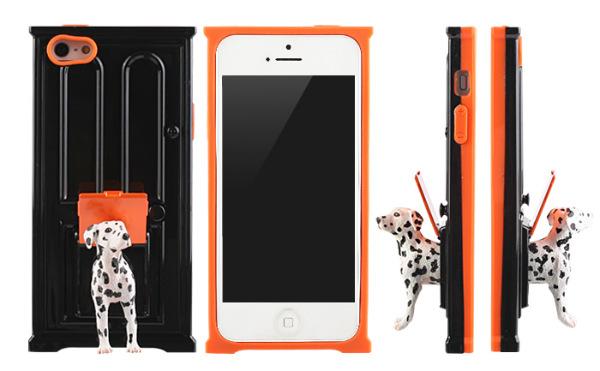 Capas engraçadas para smartphones tem formato de portas com bichos fugindo por elas