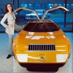 Mercedes C111, 1969