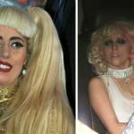 Imagens comparam famosos em momentos que estavam sóbrios e bêbados