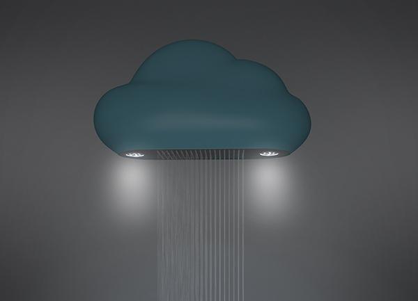 Chuveiro Nuvem pode ser um incentivo para os que não gostam de tomar banho