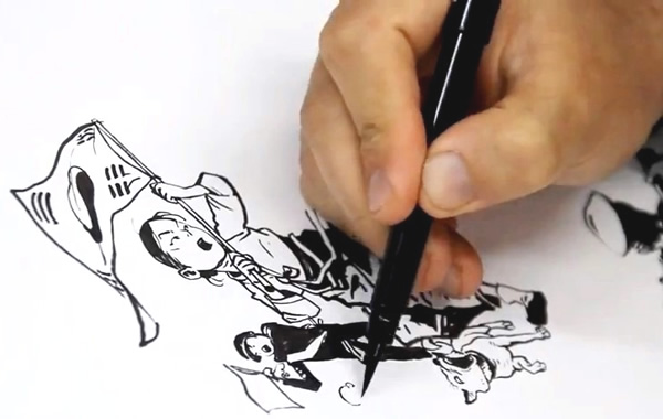 desenho-mao-coreano