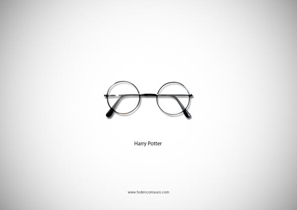 Famous Eyeglasses - Óculos famosos de celebridades, figuras históricas e personagens da ficção