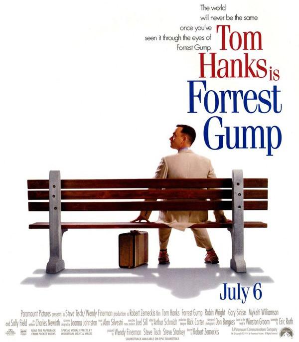 15 fatos curiosos do filme Forrest Gump que provavelmente você não sabia
