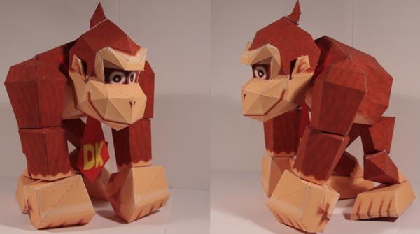Paper Donkey Kong