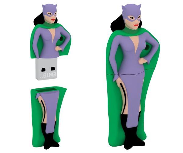 EMTEC Super Heroes: Pen drives de super-heróis para proteger seus dados!