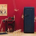 Moda na Cozinha: Agora já é possível comprar uma geladeira Jeans!