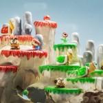 Bizarro - Cenários do game Super Mario esculpidos em crânios de animais