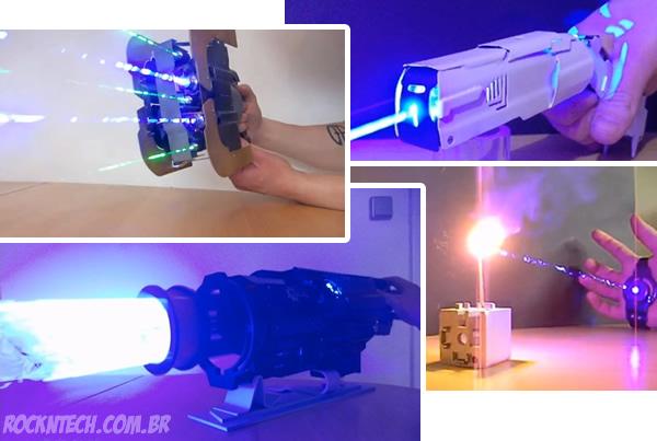 5 Armas Lasers letais e não letais incríveis que já existem e que você talvez não saiba
