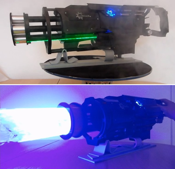 arma laser real