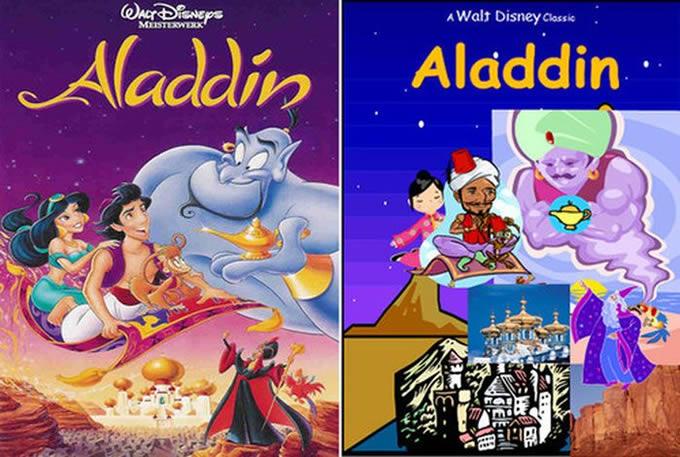 Como ficariam as capas de filmes famosos se eles tivessem tido pouco investimento