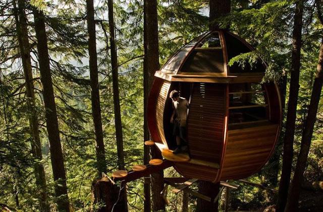 Casas na Árvore Fantásticas 4