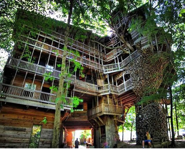 Casas na Árvore Fantásticas 6