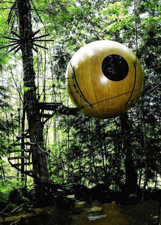 Casas na Árvore Fantásticas 9