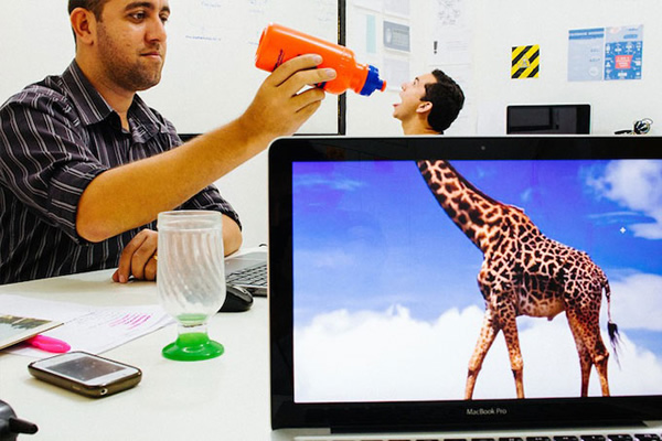 Projeto Desk Safari - Corpo de um focinho de outro!