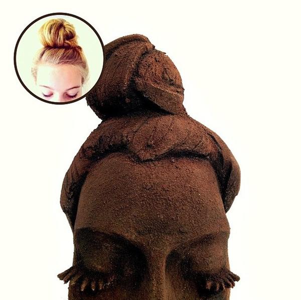 Esculturas sensacionais feitas com Oreo. Hummm!!!