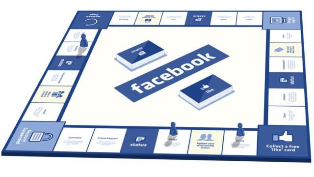 Jogo de tabuleiro do Facebook