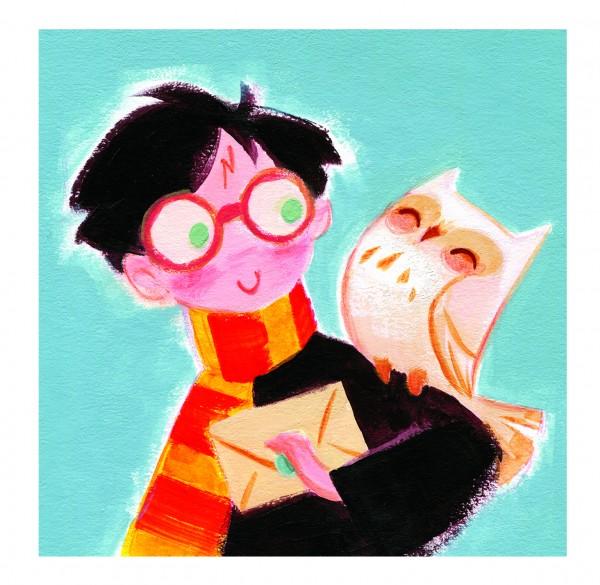 Você precisa ver isso do dia: Ilustrações fofas dos personagens da série Harry Potter