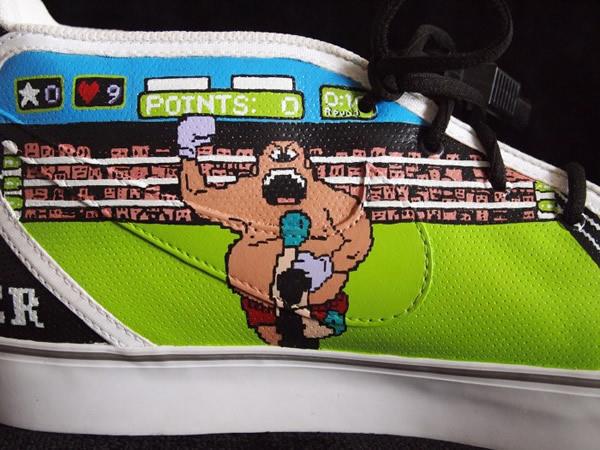 Isso é legal do dia: Nike customizado com o tema Nintendinho 8-bits e jogos da Nintendo