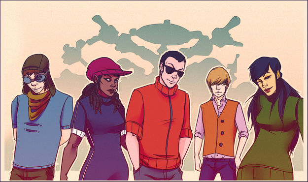 Eles cresceram! Personagens de desenhos animados desenhados como adultos