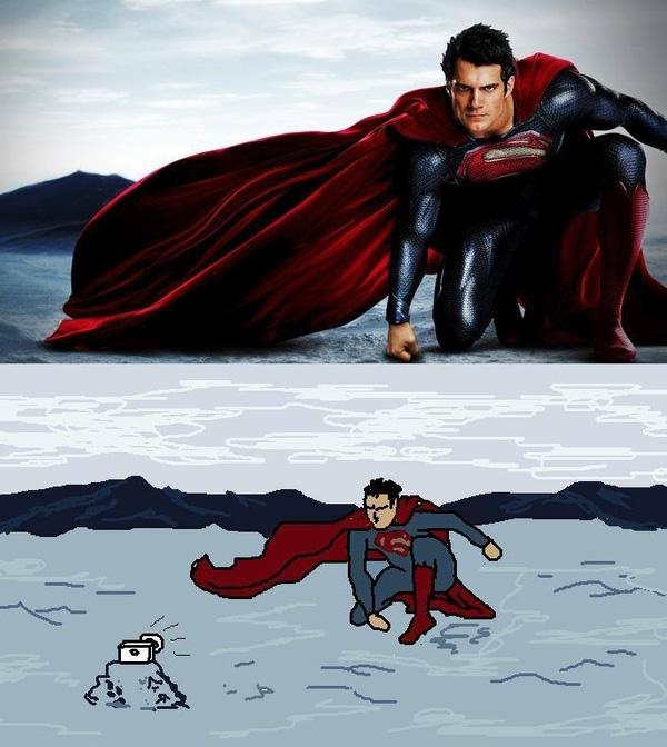super-herois-tirando-suas-fotos