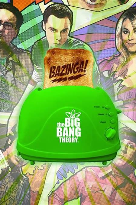 Torradeira Big Bang Theory: Coloque sua torrada e Bazinga!